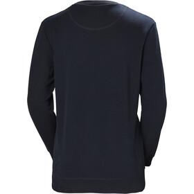 Helly Hansen HH Logo Sweat-shirt à col ras-du-cou Femme, navy